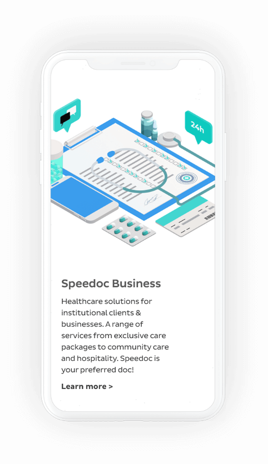 Speedoc for business