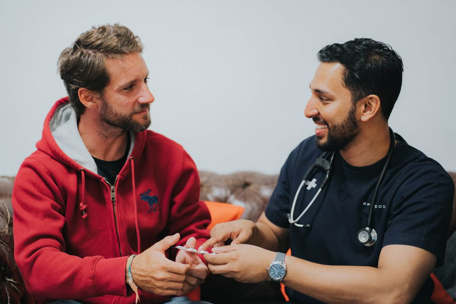 """Doctors on the COVID-19 Frontlines: """"We're Human Too."""""""